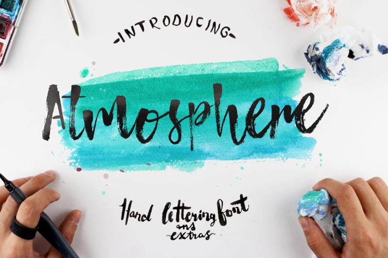 atmosphere-script-typeface