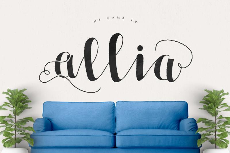 allia-typeface