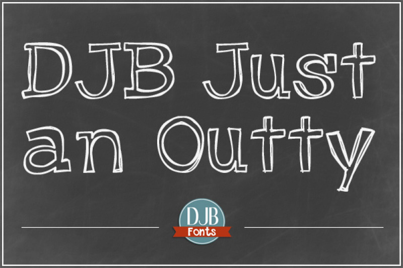 djb-just-an-outty-font
