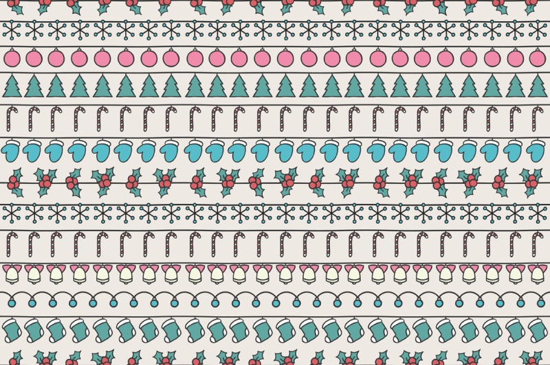merry-christmas-and-happy-new-year-2017-christmas-season-hand-drawn-seamless-pattern-vector-illustration-doodle-style-decorations-winter-holiday-backgrounds-for-design