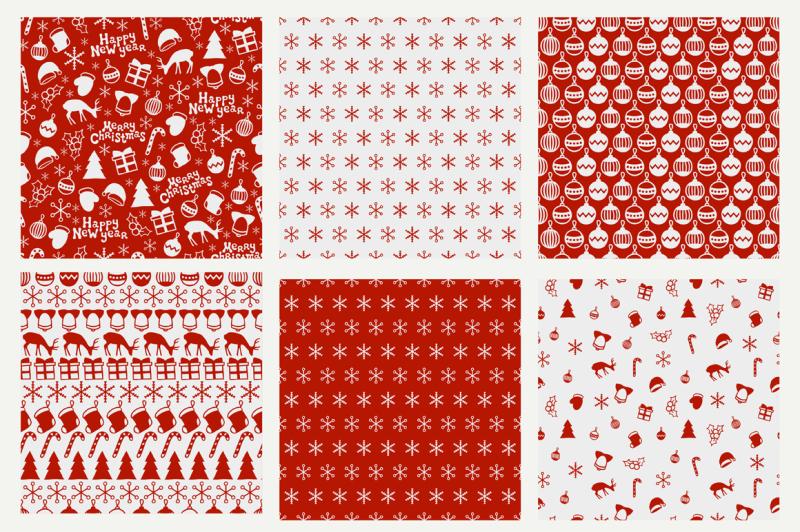 6-new-year-seamless-patterns