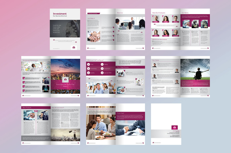 investment-plan-business-brochure