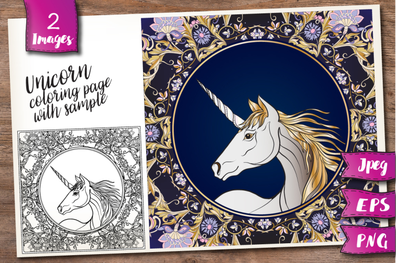 unicorn-coloring-page