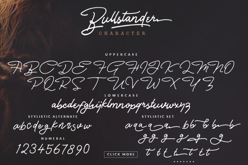 bullstander-font-set