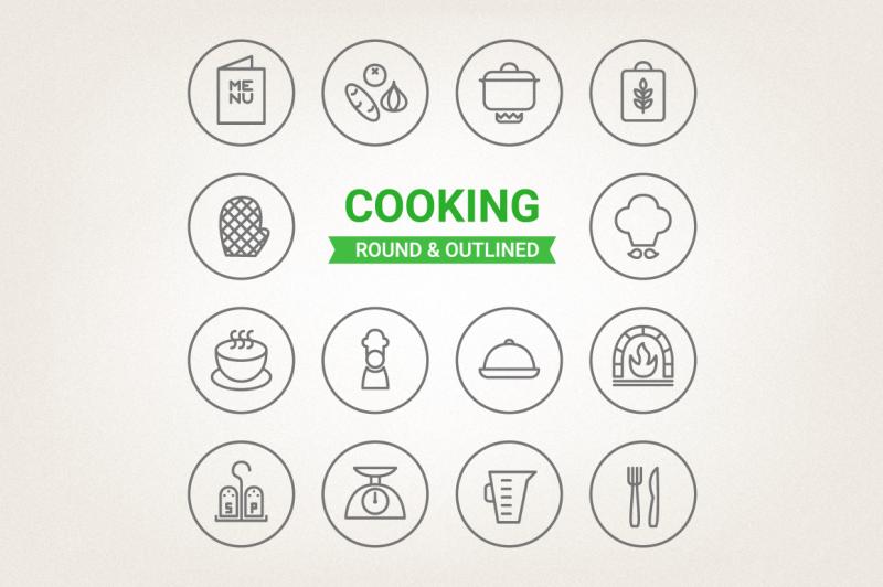 circle-cooking-icons