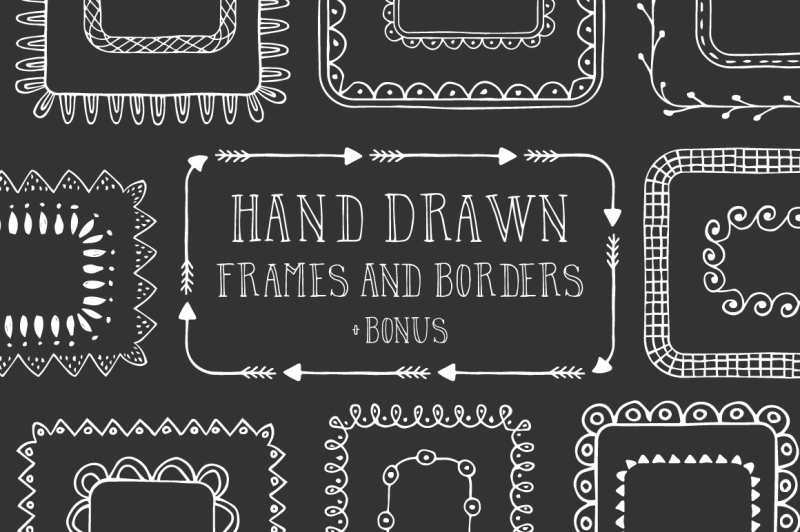 hand-drawn-frames-and-borders