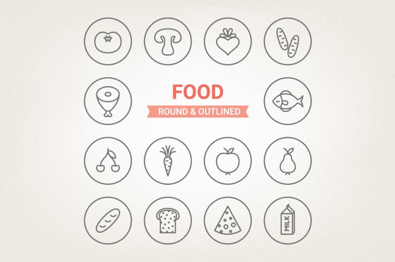 circle-food-icons