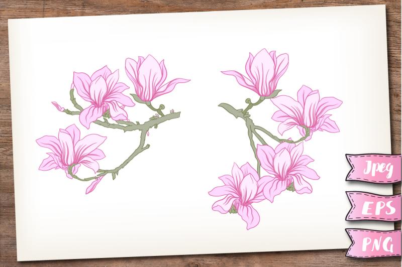 blooming-magnolia-set