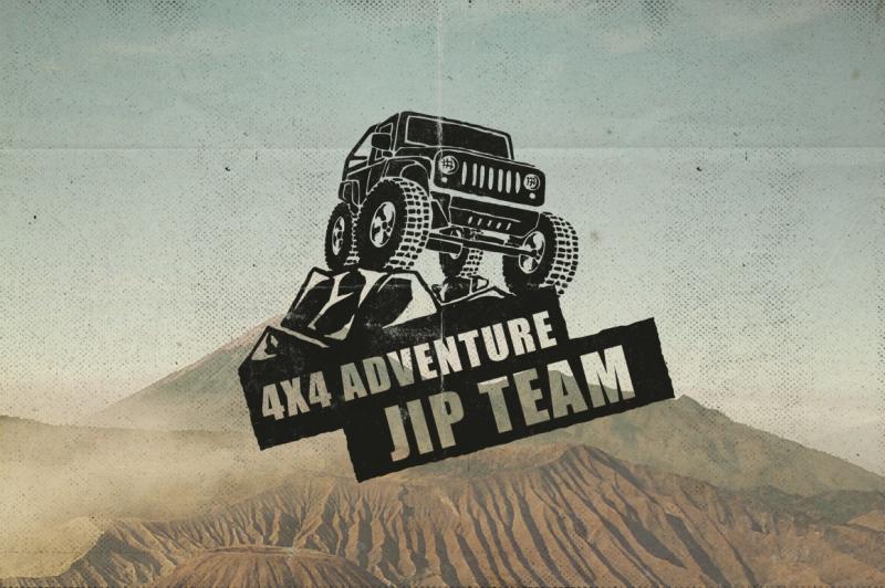 50-retro-adventure-logo