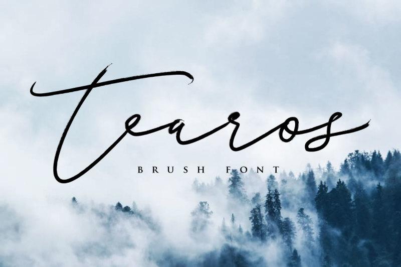 tearos-typeface