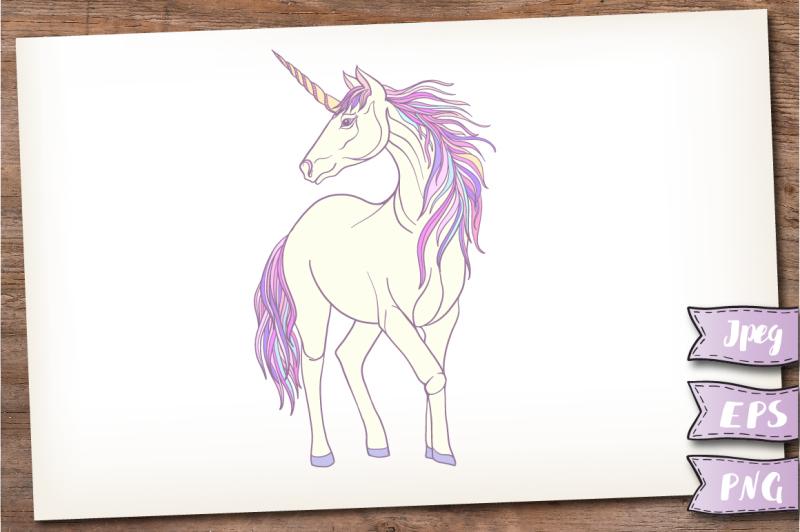 unicorn-and-rainbow-set