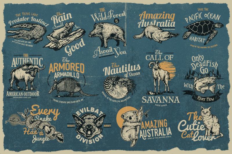 50-vintage-animal-logo