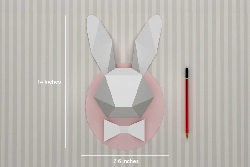 diy-rabbit-head-wall-mount-trophy-printable