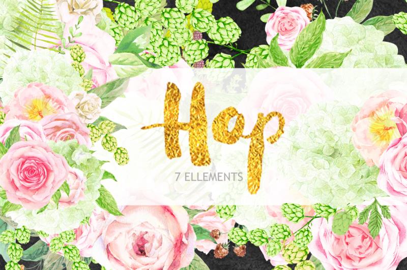 peaches-and-cream-flower-graphic-set