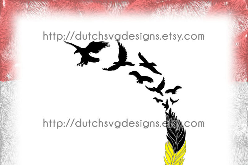 cutting-file-eagle-feather-morphing-into-flying-eagles-in-jpg-png-eps-dxf-svg-for-cricut-and-silhouette-plotter-hobby-datei-clipart