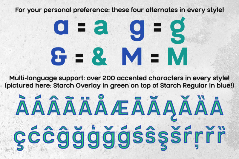 starch-font-family