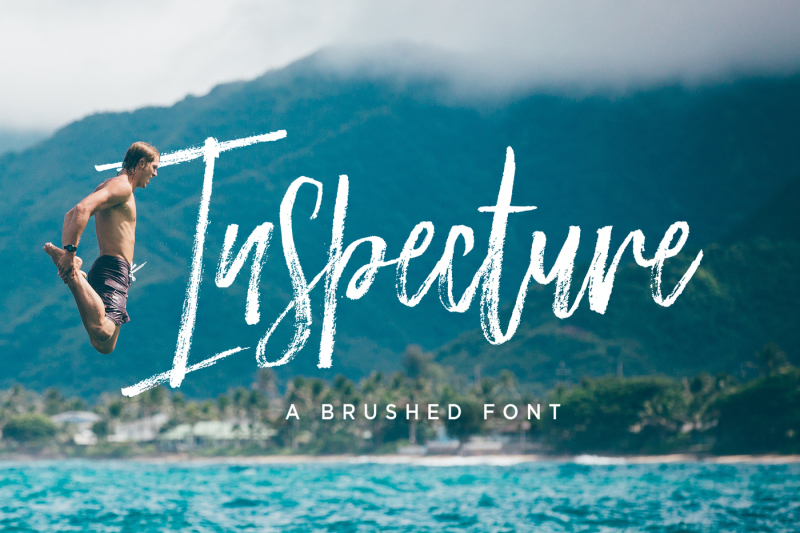 inspecture-brush-font