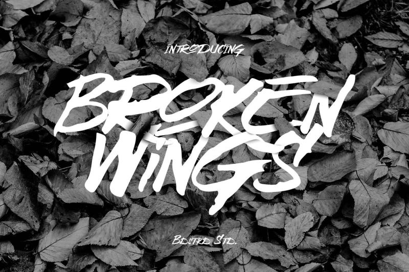 broken-wings-typeface