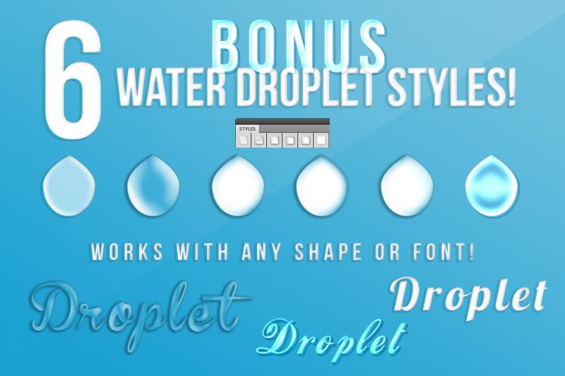 10-splash-graphics-bundle