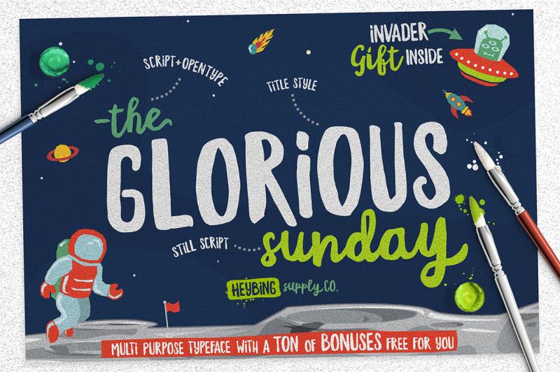 glorious-sunday-extras-intro-sale