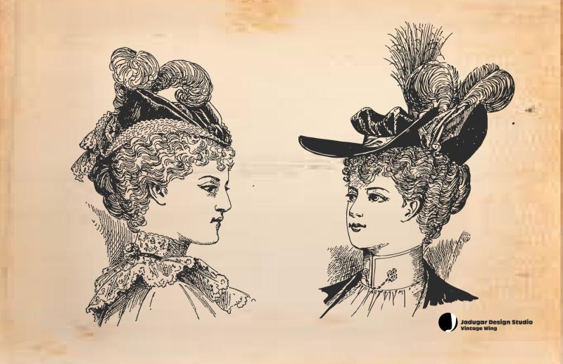 vintage-hats-and-hair-30-ladies
