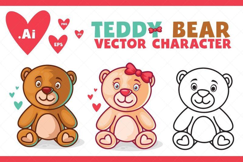 teddy-bear-character