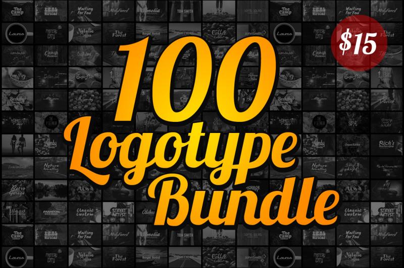 100-logotype-bundle