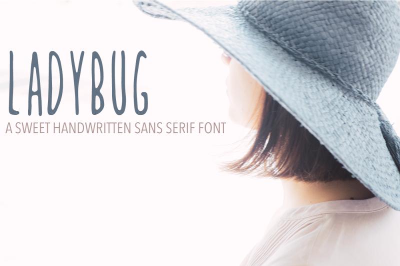 ladybug-handwritten-font