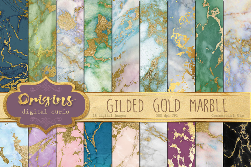 gilded-gold-marble-digital-paper
