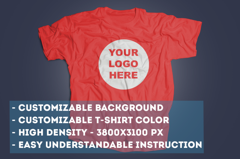 Free T-Shirt Mock Up (PSD Mockups)