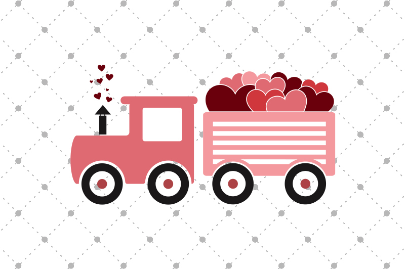 valentine-s-day-svg-train-files