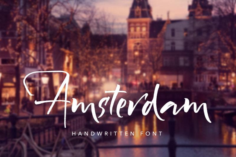 amsterdam-handwritten-font