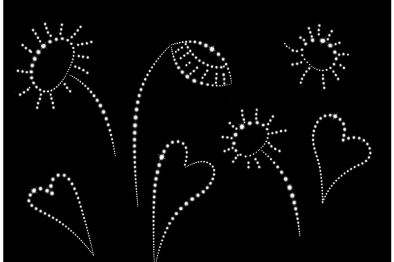 image-bright-glowing-heart-with-pattern-and-individual-elements-on-a-black-background-the-archive-contains-10-files-in-jpeg-format-300-dpi-color-and-black-and-white-images-to-design-and-work-in-excellent-quality