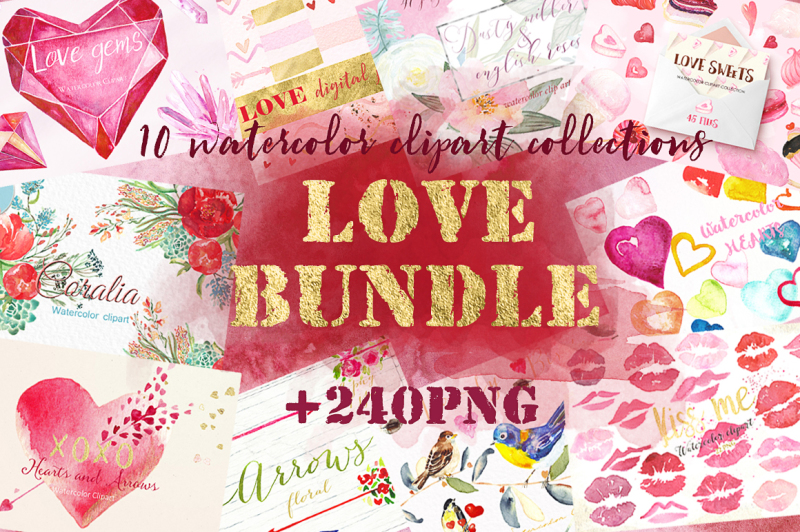 love-watercolor-bundle-valentine-s-day-clipart