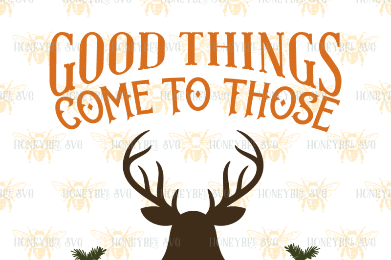 Download Good Things Come To Those Who Wait Deer PNG