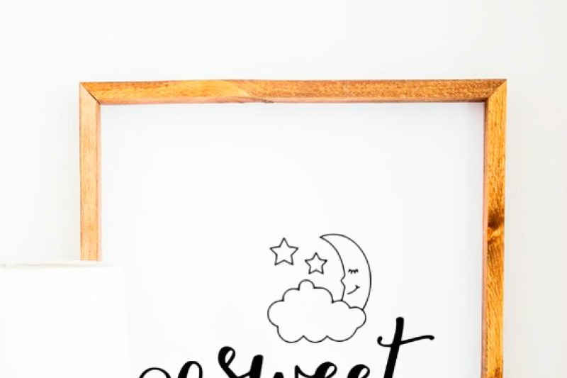 Sweet Dreams Svg And Dxf Eps Cut File Cricut Silhouette By