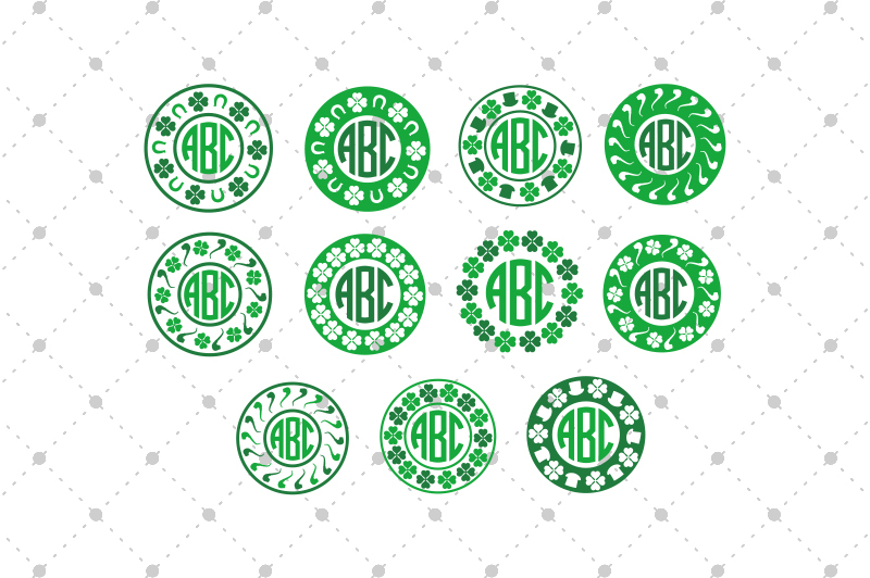 st-patrick-s-day-monogram-frames-files
