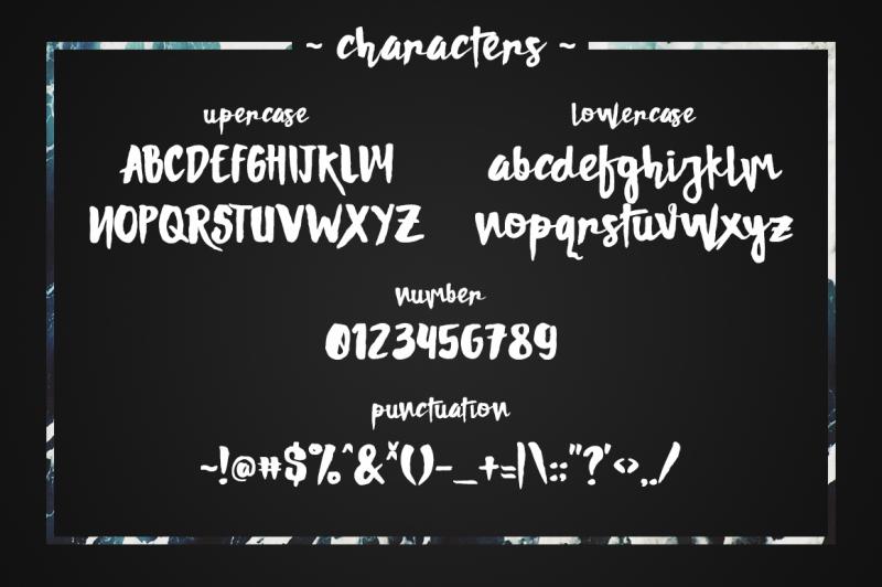 damnright-typeface