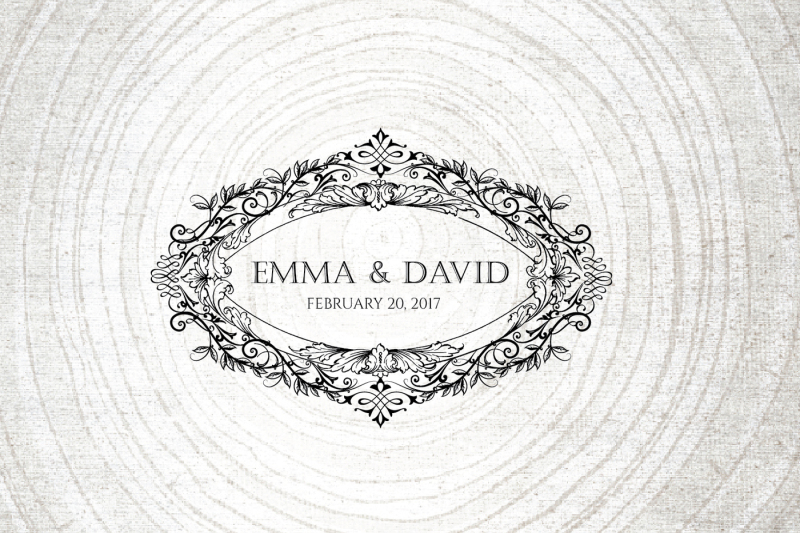 vintage-wedding-logo-template