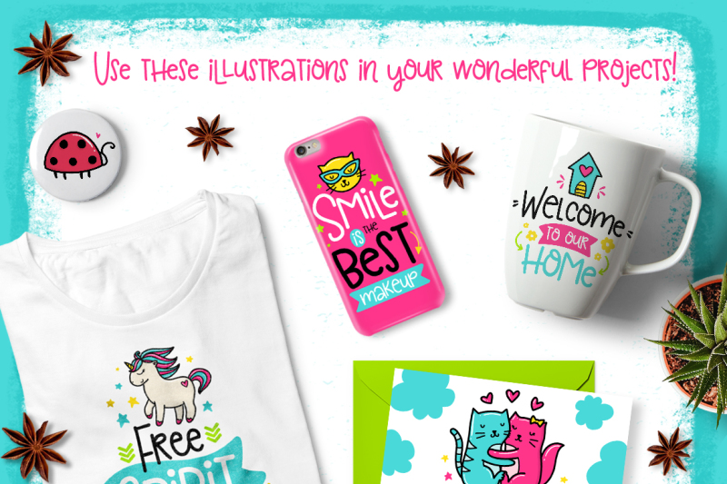 36-funny-lettering-cards-collection