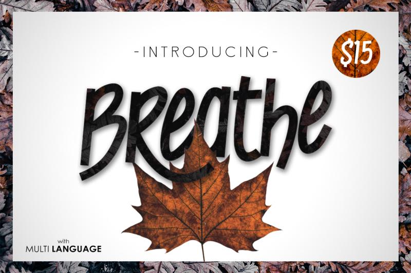 breathe-typeface