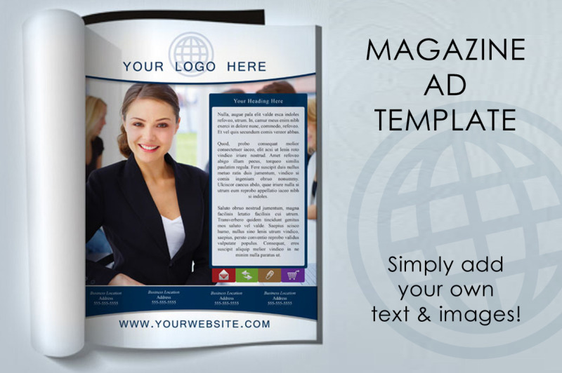 magazine-ad-template