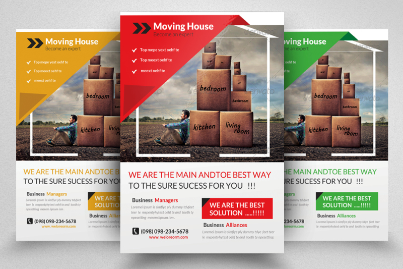 moving-house-service-flyer