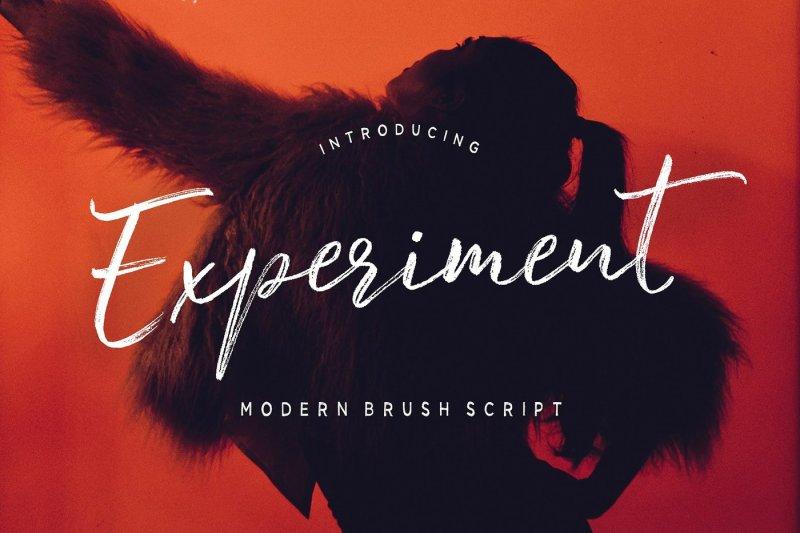 experiment-brush-script