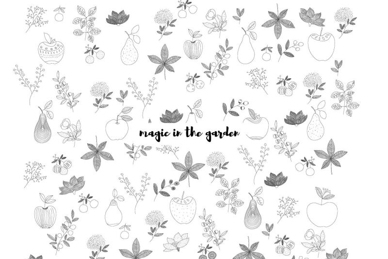 magic-in-the-garden-cosy-illustration-in-vector
