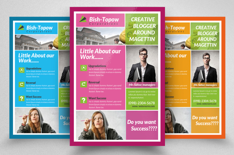 insurance-company-business-flyer
