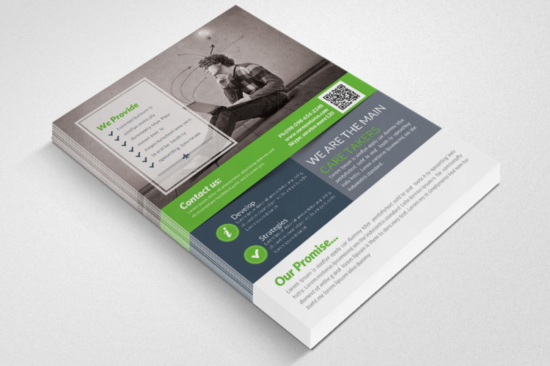 business-solutions-consultant-flyer