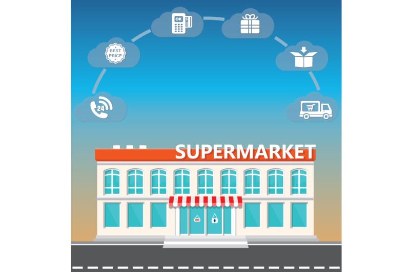 shop-supermarket-on-the-roadside