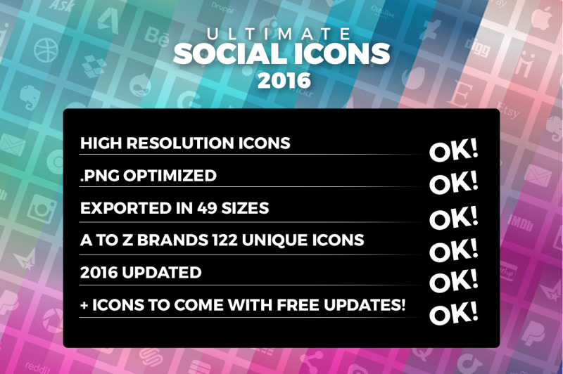 ultimate-social-icons-flat-pack-2016