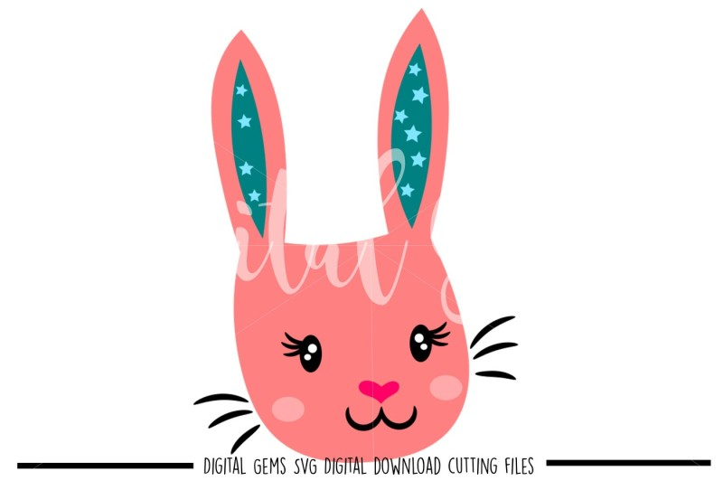 rabbit-face-svg-dxf-png-files